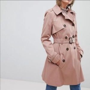 ASOS Double Breasted Trench Coat